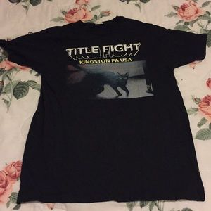 Shirts - Title Fight band shirt